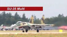 Sukhoi Su-35, l'aereo più tecnologicamente avanzato e manovrabile mai co...
