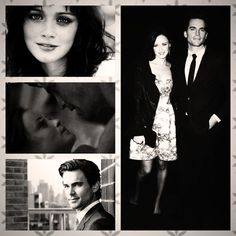 Matt Bomer and Alexis Bledel, perfect Christian Grey and Anastasia Steele
