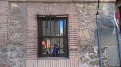 Calles de #Segovia con Selfie de fondo