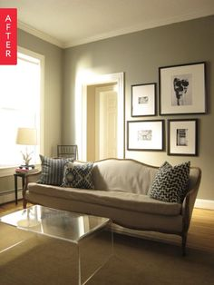 Before & After: A $60 Sofa Gets The Royal Treatment | Apartment Therapy