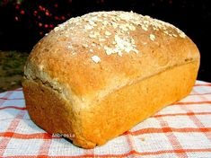Whole Wheat Oat Bread [Vegan] - One Green Planet Oat Pancakes Vegan, Vegan Banana Bread, Vegan Bread, Vegan Foods, Vegan Recipes, Bread Recipes, Easy Recipes, Oat Bread Recipe, Banana Zucchini Muffins