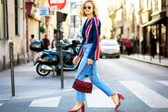 Pulling off the Parisian chic look is easier than you think. Here we break down tips to effortlessly add color to your wardrobe.