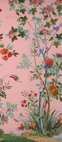 Zuber's Decor Chinois wallpaper