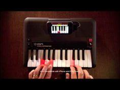 ION Audio Piano Apprentice. Gracias a él  podrás aprender a tocar el piano con tu IPod,  IPad y IPhone.