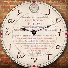 HODINY K NAROZENINÁM When You Cant Sleep, Game Of Thrones Party, Quotations, Clock, Messages, Make It Yourself, Appliques, Scrapbook, Watches