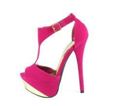 COUNT09 FUSCHIA HEEL from wholesalefashionshoes.net