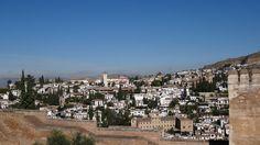GRANADA | CENTRO | El Albaicín desde la Alcazaba, Alhambra, de espaldas al Palacio de Carlos V.