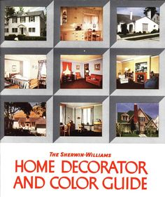 Home Decorator's Color Guide, 1940. Sherwin-Williams Co. From the Association for Preservation Technology (APT) - Building Technology Heritage Library, an online archive of period architectural trade catalogs. Select an era or material era and become an architectural time traveler. Original from Jablonski Building Conservation.