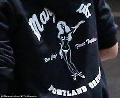 Kristen Stewart sports @Marysclubpdx hoodie: