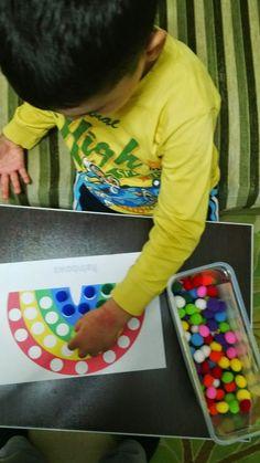Rüzgar ım için montessori ev okulu(montessori homeschool): gökkuşağı