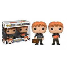 Funko Pop! Fred & George Weasley, BAM Exclusive, Books a Million, Harry Potter, Funkomania, Filmes