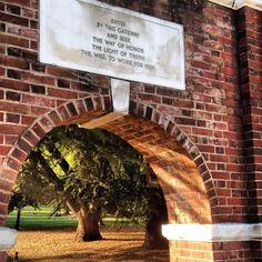 #UVA Honor Gates