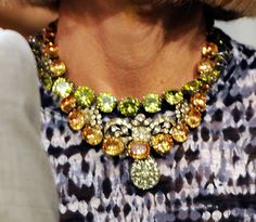 Anna Wintour... #necklaces. never too much