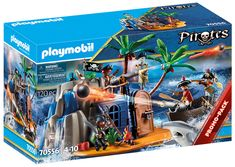 Play Mobile, Playmobil Pirates, Mario Toys, Pirate Island, Floating Boat, Rock Wall, Hiding Places, Kids Hands, Toy Chest