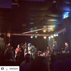 Much love to @kiwizzo for the share... hope we got you to come back!! #repost  Finally checking out #Kalmunity in Montreal! Amazing live music!!!