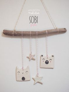 mobile sobigraphie mobile sobigraphie The post mobile sobigraphie appeared first on Salzteig Rezepte. Diy Clay, Clay Crafts, Diy And Crafts, Simple Crafts, Felt Crafts, Clay Christmas Decorations, Christmas Crafts, Diy For Kids, Crafts For Kids