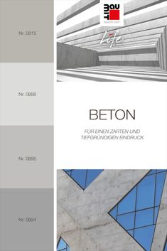 Beton ist ein Grauton. Grau als Hauptfarbe verleiht einem Gebäude einen zarten und tiefgründigen Eindruck. Diese Farbe eignet sich besser als eindrucksvolle ergänzende Farbe (jedoch nur mit kühleren Farbtönen), da Betongrau allein nicht auffällt. Betongrau eignet sich hervorragend zum Mischen mit Kaltrottönen / Himbeerrot oder gedeckten Versionen dieser Farbtöne, kühlen Grün-Gelb-Tönen wie Grapefruit, und anderen helleren Grauvarianten. #Farbtrends2020wohnen #Farbtrends2020 #beton #wandfarbe Bar Chart, Colours, Inspiration, Alone, Paint, Ceilings, Yellow, Homes, Biblical Inspiration