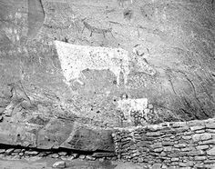 Canyon de Chelly National Monument - Standing Cow Ruin - 1965