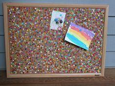 DIY - Confetti Cork Board