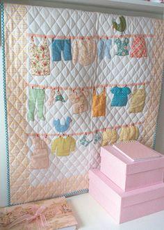 Wash Day quilt pattern. $22.00, via Etsy. Trish Harper