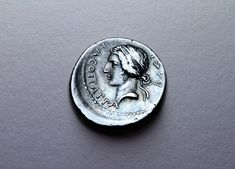 A rare silver denarius with a delicate portrait of Cleopatra Selene II (c. Minted in Caesarea, Mauretania (near modern day Cherchell, Algeria. Chicago Style, Latest Images, Cleopatra, Original Image, Submissive, Museums, Style Guides, Coins, Auction