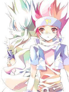epic rivals, gingka and kyoya