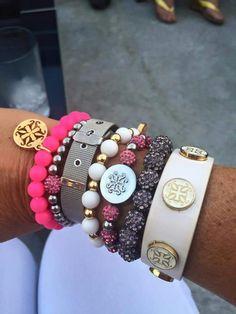 Pink, Gray, & White Stack!!