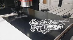 Comic Fun with the CNC Router on Behance