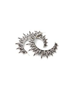 Crux Spiked Hoops//