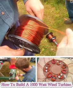 How To Build A **DIY** 1000 Watt Wind Turbine How To Build A 1000 Watt Wind Turbine The wind turbine can be important for a house, imagine a situation where the power went out and there is no source of
