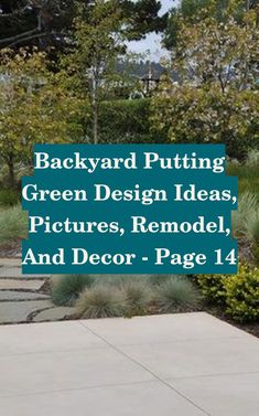 Backyard Putting Green Design Ideas, Pictures, Remodel, and Decor - page 14 | Putting Green Design Ideas | Diy Putting Green | Putting Green Turf | Backyard Putting Green. Having your own putting green in your backyard makes it easy to practice putting in your extra time #instagolf #golfing #golftips #Ryan and Julia Putting Green Turf, Backyard Putting Green, Golf Instructors, Golf Lessons, Play Golf, Golf Tips, Design Ideas, Make It Yourself, Pictures