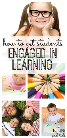 Are your kids not very engaged in their education? Check out this expert advice on how to get students engaged in learning!