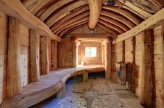 35 The Best Home Sauna Design Ideas You Definitely Like - No matter what you're shopping for, it helps to know all of your options. A home sauna is certainly no different. There are at least different options. Sauna Steam Room, Sauna Room, Rustic Saunas, Cabana, Floor Design, House Design, Sauna House, Saint Sauveur, Sauna Design