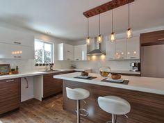Interior Decorating, Interior Design, Kitchen Design, Minimalist, Kitchen Inspiration, Kitchen Ideas, Kitchens, Lighting, Create