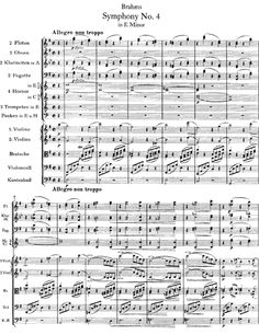 Brahms Symphony No. 4.  His final, and best, symphony.  I love Brahms use of melodic 3rds in his later works - compare the descending 3rds here and in Brahms Intermezzo Op. 119, No. 1 for piano.