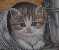 yağlı boya kedi ile ilgili görsel sonucu