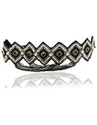 Great Gatsby Rhinestone Headband Art Deco 1920's and... ** This is an Amazon Affiliate link. You can get more details by clicking on the image.