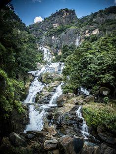 """Ella's Rock - Sri Lanka Wanneer je aan Sri Lanka denkt, denk je in eerste instantie aan een kustlijn van witte stranden met palmbomen en een binnenland van regenwoud. Dat klopt. Maar, als je verder landinwaarts rijdt dan het regenwoud, kom je in """"Hillcountry"""", een prachtig bergachtig gebied met meerdere toppen die boven de 2000 meter uitpieken..."""