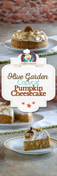 You can recreate the Olive Garden Pumpkin Cheesecake t home with this copycat recipe.  These step by step instructions will have you recreating this famous cheesecake at home.