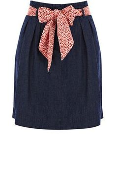 Oasis Skirts   Denim Denim Skirt   Womens Fashion Clothing   Oasis Stores UK