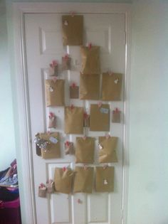 My fabulously creative boyfriend surprised me with a 'brown envelope' advent calendar. Each little envelope contains various presents! Day 1 & 2 have been sweets, hooray for Christmas and lovely boyfriends!