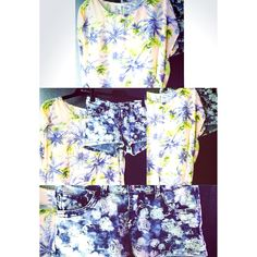 Hola, kawaii Hawaii. :) #kawaii #hola #hawaii #outfit #cute #clothes #tanktop #tshirt #flower #summer #fashion #shorts #jeans @newyorkeronline