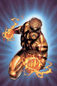 Captain Atom, por Dale Keown