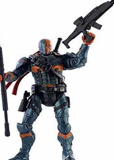 Mattel DC Comics Multiverse Toy - Batman Arkham City - Deathstroke 3.75 Inch Action Figure - Collector Authentic to parallel characters in the world of DC Comics, this figure celebrates batman video games and classic DC comics movies. Highly detailed DC Comics character ha (Barcode EAN = 0887961050691) http://www.comparestoreprices.co.uk/december-2016-week-1-b/mattel-dc-comics-multiverse-toy--batman-arkham-city--deathstroke-3-75-inch-action-figure--collector.asp
