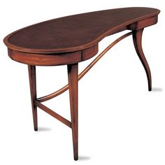 Angelina #Writing #Desk - This #Angelina Writing Desk features tongue and groove joinery in its top while the base is crafted with precisely executed #mortise and #tenon to ensure the longevity of the structure.