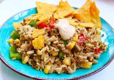 Barnen här gillar tacos och även ris. Så denna Mexicoröran blev en riktig hit ! Och det är alltid extra roligt när de äter grönsakerna också. För fler mat- & baktips finns jag på Facebook HÄR Och på instagram som @jennysmatblogg Till 4 portioner Mexicoröra 4 port. ris smör 1 … Läs mer
