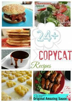 The Best Copycat recipes, from restaurants and more! So many good ones it is hard to pick a favorite. But I can not live with out My Cafe Rio style sweet pork salad!
