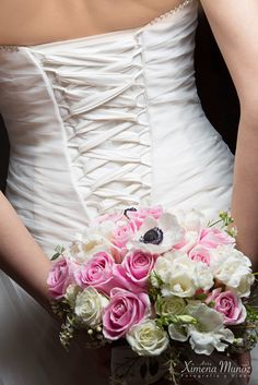 Ramo Novia / Bride Bouquet / Ideas Matrimonio / Wedding ideas Bride Bouquets, One Shoulder Wedding Dress, Wedding Ideas, Wedding Dresses, Fashion, Wedding Bouquets, Boyfriends, Bridal Bouquets, Bride Dresses