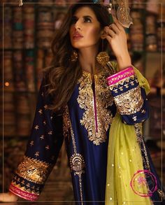 silk gota work best for mehndi function Pakistani Fashion Party Wear, Pakistani Wedding Outfits, Pakistani Wedding Dresses, Bridal Outfits, Bridal Mehndi Dresses, Wedding Hijab, Shadi Dresses, Pakistani Formal Dresses, Pakistani Dress Design