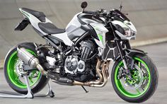 Download Wallpapers Kawasaki Z950 4k 2017 Bikes Superbikes Japanese Motorcycles